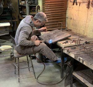 fabricating metal sculpture
